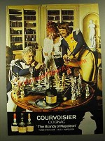 1977 Courvoisier Cognac Ad - The Brandy of Napoleon