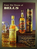 1978 Bell's Scotch and Dufftown Scotch Ad - House of Bell's