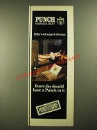1978 Punch Cigar Ad - Every Day Should Have a Punch In It