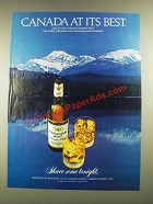 1979 Canadian Mist Whisky Ad - At Its Best