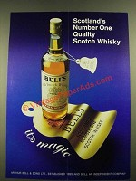 1979 Bell's Scotch Ad - Scotland's Number One Quality