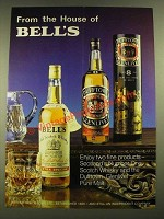 1979 Bell's Scotch and Dufftown Scotch Ad