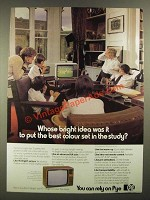 1979 Pye Televisions Ad - Whose Bright Idea