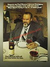 1980 Paul Masson Wine Ad - Orson Welles