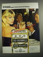 1980 Old Bushmills Irish Whiskey Ad - Changing Minds
