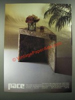 1980 Pace Furniture Ad - 2949 Cigarette Table by Leon Rosen