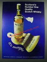 1980 Bell's Scotch Ad - Scotland's Number One Quality
