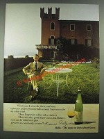 1980 Bolla Soave Wine Ad - Other Wines Made With Grapes I Reject