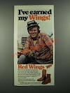 1980 Red Wing Boots Ad - 1155 and 214 Styles