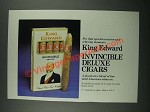 1980 King Edward Invincible Deluxe Cigars Ad
