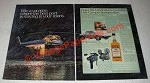 1980 Lord Calvert Canadian Whisky Ad - Heli-Camper Sweepstakes