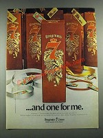 1980 Seagram's 7 Crown Whiskey Ad - And One For Me
