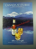 1981 Canadian Mist Whisky Ad - At Its Best