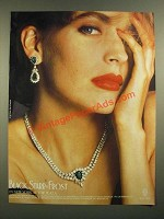 1988 Black, Starr & Frost Jewelry Ad