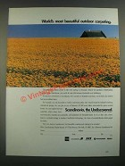 1988 Scandinavia Tourist Boards Ad - Most Beautiful Outdoor Carpeting