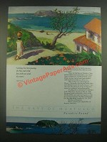 1988 The Bays of Huatulco NY Ad - Nothing But Time Passing