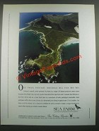 1988 Sea Farm South Africa Ad - Only Twelve Individuals
