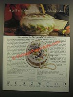 1988 Wedgwood Chickadee Box Ad - A Gift as Endearing