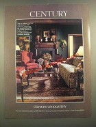 1988 Century Upholstery Furniture Ad