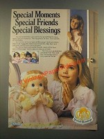 1988 Kenner Special Blessings Dolls Ad - Special Moments Special Friends