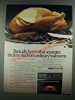 1988 Jenn-Air Selective-Use Convection/Radiant Oven Ad