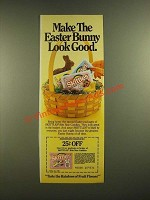1988 Skittles Candies Ad - Make the Easter Bunny Look Good