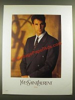 1988 Yves Saint Laurent Fashion Ad