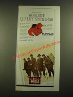 1988 Woolrich Jackets Ad - Quality since 1830