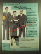 1988 JCPenney Big & Extra-Tall Men's Clothing Ad