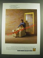 1988 Marvin Windows Ad - The Plans Called For a Standard Size