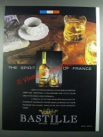 1988 Bastille Brandy Ad - The Spirit of France