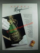 1988 Korbel Champagne Ad - Magic