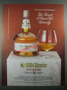 1988 Oude Meester Souverein Brandy Ad