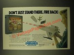 1988 Mattel Captain Power Powerjet XT-7 Toy Ad - Fire Back!