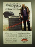 1988 Bryant Air Conditioner Ad - Chuck Yeager