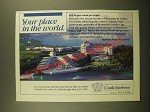 1988 Marriott Castle Harbour Hotel Ad - Your Place in the World