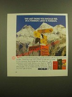 1988 Michelin Maps and Guides Ad - The Last Thing You Should Feel is Foreign