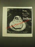 1988 Neiman Marcus Waterford Crystal Inkwell Ad - Writ of Privilege