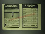 1976 Remington Grit-Edge Saber Saw Blades Ad - Saw Asbestos-Cement