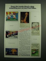 1975 U.S. Postal Service Ad - Every Few Weeks, There's Something New