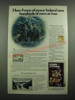 1975 U.S. Postal Service Ad - Save Hundreds of Men at War