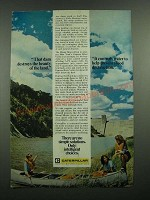 1975 Caterpillar Tractor Co. Ad - That Dam Destroys the Beauty