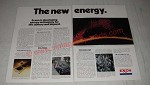 1974 Exxon Oil Ad - The New Energy