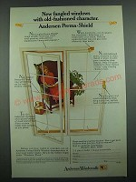 1973 Andersen Windowalls Ad - New Fangled Windows