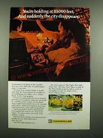 1971 Caterpillar Engines and Electric Sets Ad - Suddenly The City Disappears