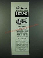 1970 Kentucky Tourism Ad - Fall and Winter Vacations