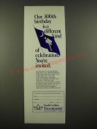 1969 South Carolina Tricentennial Ad - Our 300th Birthday is Different