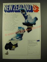 1969 New Zealand Tourism Ad
