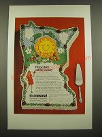 1969 Minnesota Tourism Ad - Please Don't Eat the Scenery
