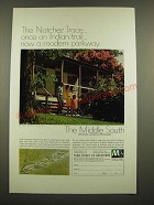 1969 Middle South Utilities Ad - The Natchez Trace